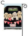 Puppy Love Garden Flag