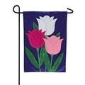 Tulip Trio Garden Flag
