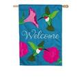 Hummingbirds and Petunias