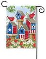 All American Birdhouses Garden Flag