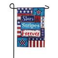 Stars and Stripes Forever Garden Flag