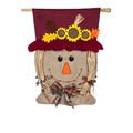 Mrs. Scarecrow Burlap Banner