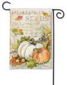 Pumpkin Seed Sack Garden Flag