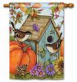 Autumn Bird Houses