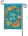 Fall Greetings Garden Flag