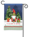Gnome for Christmas Garden Flag