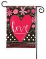 Valentine Love Garden Flag