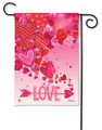 Valentine Showers Garden Flag