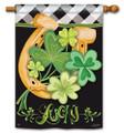 Lucky To Be Irish Banner