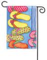 Favorite Flip Flops Garden Flag