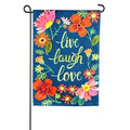 Live Laugh Love Floral