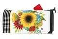 Sunflower Check MailWrap
