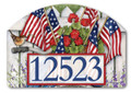 Red, White & Blue Yard Sign