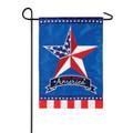 Patriotic Country Star Garden Flag