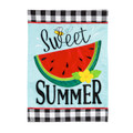 Sweet Summer Watermelon Garden Flag