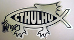 Cthulhu Fish (STICKER)