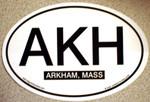 Arkham Euro Oval Decal (STICKER)