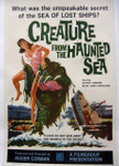 Creature From the Haunted Sea (canvas backed movie poster)