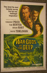 War Gods of the Deep (canvas backed movie poster)