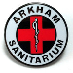 Arkham Sanitarium Lapel Pin