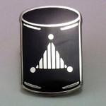 MI-Go Brain Cylinder lapel pin