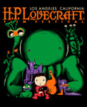 H.P. Lovecraft Film Festival t-shirt 2012 LA