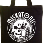 Miskatonic Cocktail Club tote bag