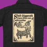 Shub-Niggurath woodcut workshirt