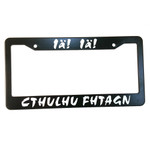 Cthulhu Fhtagn License Plate Frame