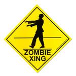 Zombie Xing sticker