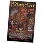 2014 H.P. Lovecraft Film Festival & CthulhuCon Festival Poster