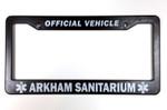 Arkham Sanitarium License Plate Frame