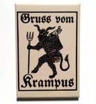 Greetings From Krampus magnet
