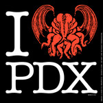 "I ""Cthulhu"" PDX shirt"