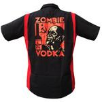 Zombie Vodka red/black work shirt