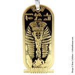 Gold Nyarlathotep holiday ornament