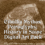 Cthulhu Mythos Petroglyphs: History in Stone Digital Art Pack