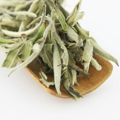 A popular white tea containing a mixture of young buds and leave picked during the earliest spring.