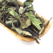 A rich combination of organic white tea, sweet peach and citrus flavors.