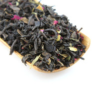 The Rose Black is a delicious blend of black tea and rose petals.