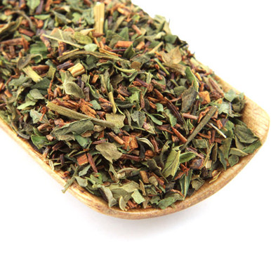 Caffeine free African Rooibos with a bold peppermint flavour.