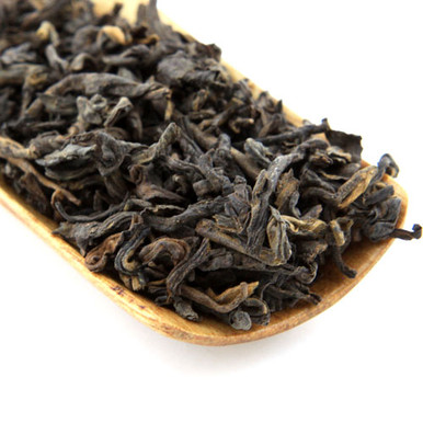 Shu or cooked Pu'er from Jing Mai Mountain in the southernmost tip of Chinas Yunnan province.