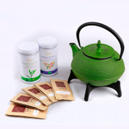 Cast Iron Tea Pot Gift Set 1.2L