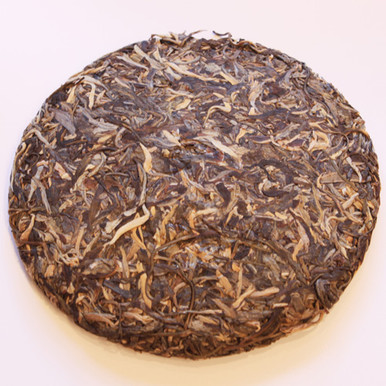 2008 Lao Ban Zhang Raw Pu-er (Wild Ancient Pu-er Aged in Canada)