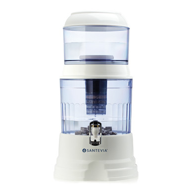 Santevia Alkaline Gravity Water System - Countertop Model is a perfect water filter system for steeping tea.