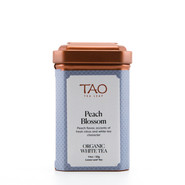 White tea infused with succulent peach essence and accents of tangerine.