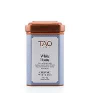 White Peony (Bai Mu Dan) is the most common style of traditional white tea and consists of two tealeaves and a silvery bud.