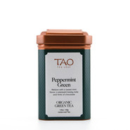 Our Peppermint green tea is a mix of organic Japanese Houjicha tea, peppermint leaves, mint cardamom and ginger.