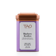 A succulent rooibos blend with sweet blueberries and revitalizing schizandra berries.