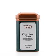 Cherry Rose Green Tea, 55g Loose Tea Tin